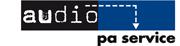 Logo audio pa service
